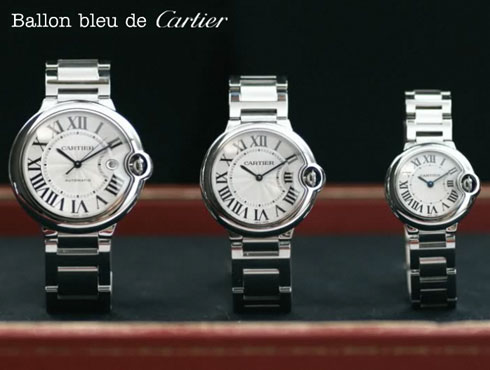 Cartier Ballon Bleu 2014