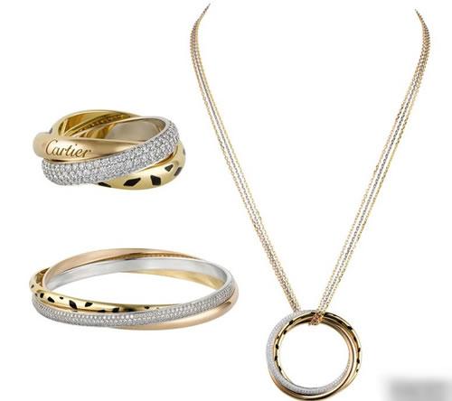 Trinity de Cartier Jewelry