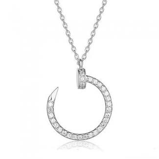 Cartier Juste Un Clou Pendant White Gold, Diamonds B3046900