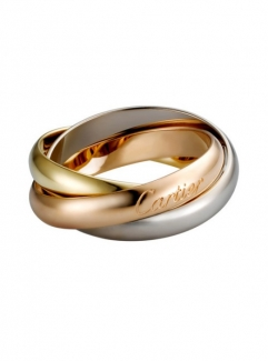 Trinity De Cartier Ring White Gold, Yellow Gold, Pink Gold B4052700
