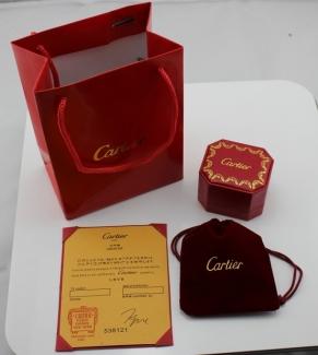 Cartier Earring Box (Single Price)