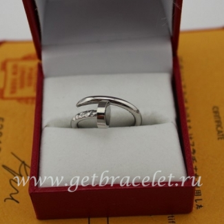 Cheap Cartier Juste Un Clou Ring White Gold B4092400