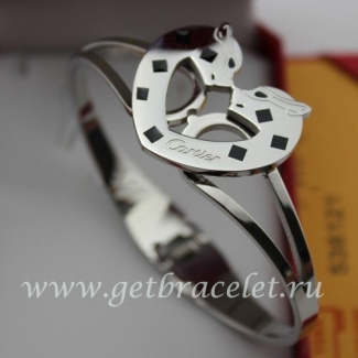 Cheap Cartier White Gold Bracelet Panthere