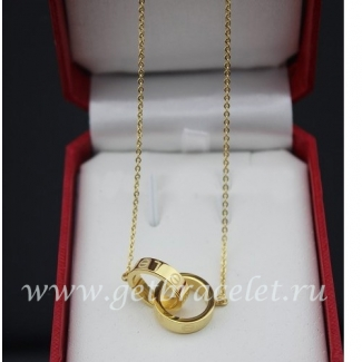 Copy Cartier Love Necklace Yellow Gold B7212400