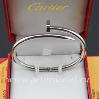 Fake Cartier Juste Un Clou Bracelet White Gold B6037615
