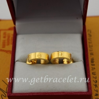 Fake Cartier Love Earrings Yellow Gold B8028800
