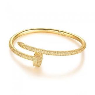 Cartier Juste Un Clou Bracelet Yellow Gold, Diamonds