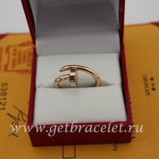 Replica Cartier Juste Un Clou Ring Pink Gold B4092500