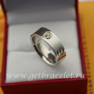 Replica Cartier Love Ring White Gold Diamonds B4032500