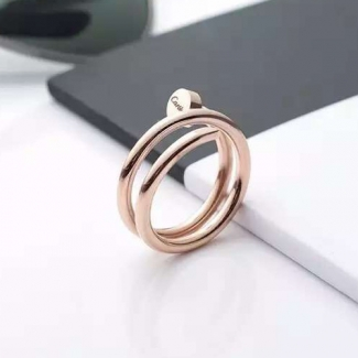 Cartier Juste Un Clou Pink Gold Double Nail Ring