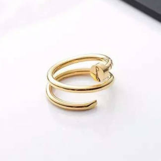 Cartier Juste Un Clou Yellow Gold Double Nail Ring