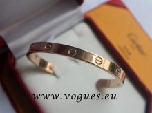Cartier Semi-Open Love Bracelet Pink Gold B6032617