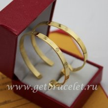 Replica Cartier Love Earrings Yellow Gold B8028200