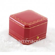 Original Cartier Rings and Earrings Red Box