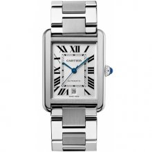 Cartier Tank Solo extra large mens watch replica W5200028 stainless steel