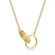 Cartier Love Necklace Yellow Gold Rings With Diamonds