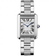 Cartier Tank Solo small ladies watch imitation W5200013 stainless steel