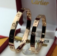 Cartier Couple Bracelet Pink Gold B6041002 (New Version - Prevent Screws Fall Out)
