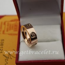 Replica Cartier Love Ring Pink Gold B48306900