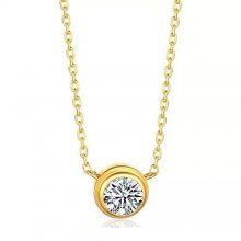 Diamants Legers De Cartier Necklace, Small Model Yellow Gold, Diamond B7215800