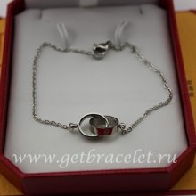 Copy Cartier Love Necklace White Gold B6027200