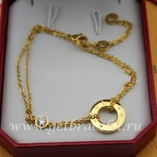 Imitation Cartier Love Necklace Yellow Gold Diamonds B6038300