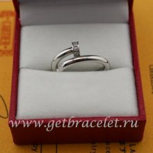Replica Cartier Juste Un Clou Ring White Gold Diamonds B4092700