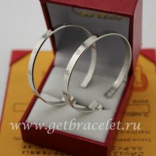 Replica Cartier Love Earrings White Gold B8028300