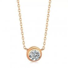 Diamants Legers De Cartier Necklace, Small Model Pink Gold, Diamond B7215700