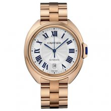 Clé de Cartier 40mm 18K pink gold replica watch for men WGCL0002