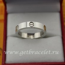 Copy Cartier Love Wedding Band White Gold B4085100