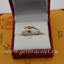 Replica Cartier Juste Un Clou Ring Pink Gold B4092500