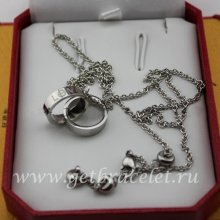 Replica Cartier Love Necklace White Gold B7212500