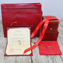 Original Cartier Rings and Earrings Packaging Set