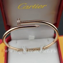 Cheap Cartier Juste Un Clou Bracelet Pink Gold Diamonds B6039015