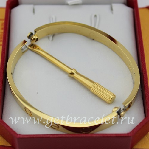 cartier locking bracelet replica cartier yellow gold bracelet b6035516 new 7673