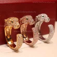 Replica Panthere de Cartier Ring CRB420001