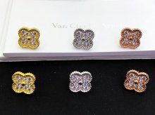 Van Cleef & Arpels Magic Vintage Earrings With Diamond 3 Colors