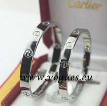 Cartier Couple Bracelet White Gold B6041000 (New Version - Prevent Screws Fall Out)