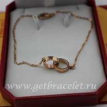 Replica Cartier Love Necklace Pink Gold B6027000